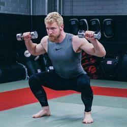 warrior 20xx squat