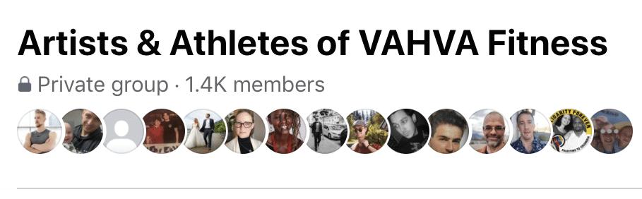 artists & athletes of vahva fitness
